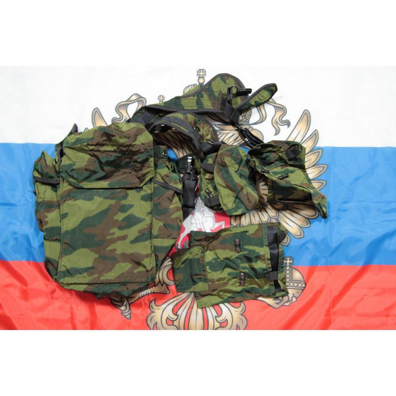 ロシア連邦軍 官給品 フローラ迷彩 RD-54 バックパック フルセット