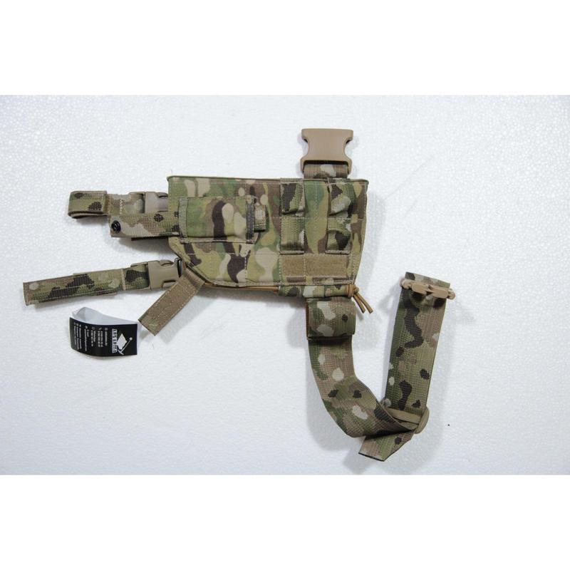 ArsArma製 マルチカム迷彩 小型~中型拳銃用 レッグホルスター