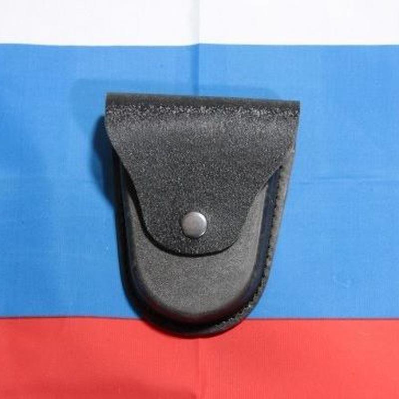 ロシア警察放出品 ハンドカフ 手錠 ポーチ ベルトループ付き