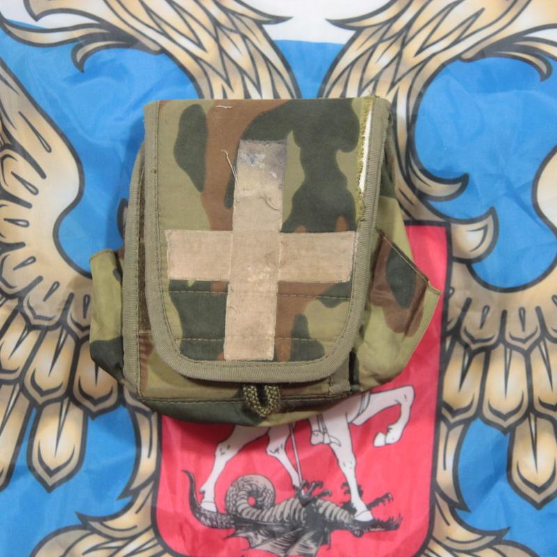 FSB放出 官給品 旧ロット フローラ迷彩 メディカルポーチ