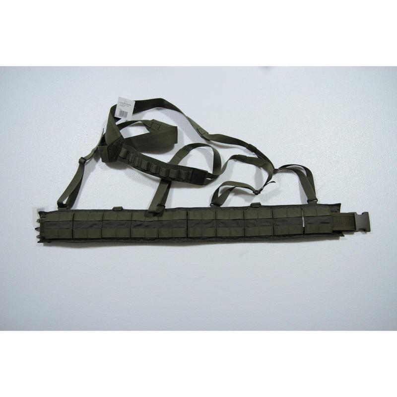 SSO製 モールベルト+ハードベルト+サスペンダー セット OD