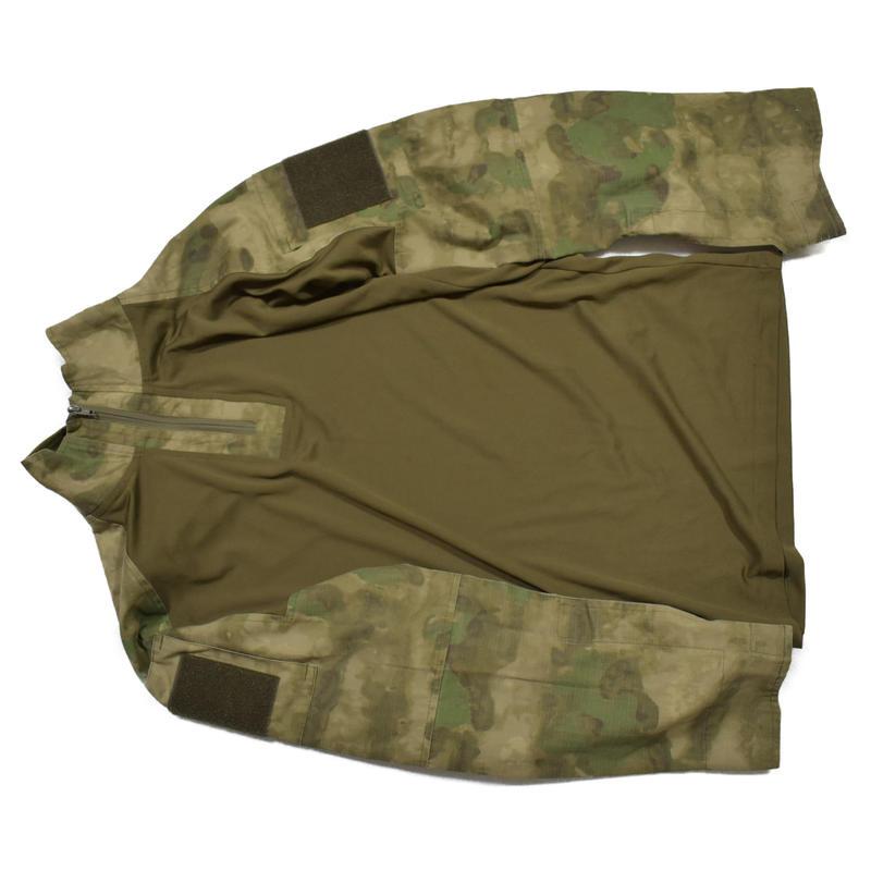 SOBR放出 SSO製 A-tacs FG コンバットシャツ エルボーパッド付き