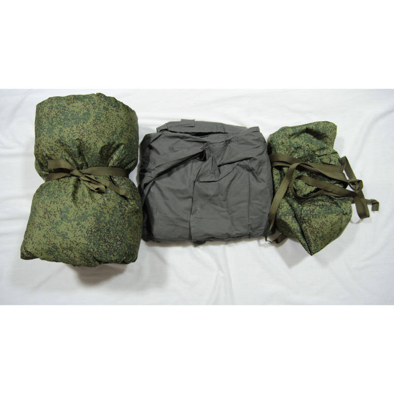ロシア連邦軍 官給品 デジタルフローラ迷彩 寝袋 シュラフ