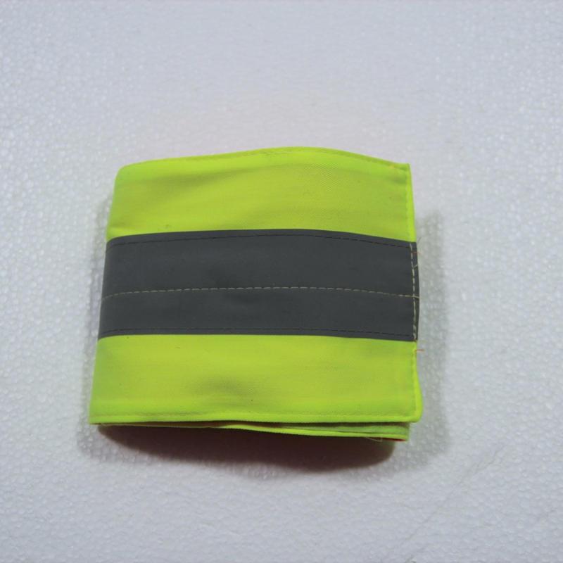 Armytex製 リフレクティブバンド 蛍光反射腕章  特注品 リバーシブル