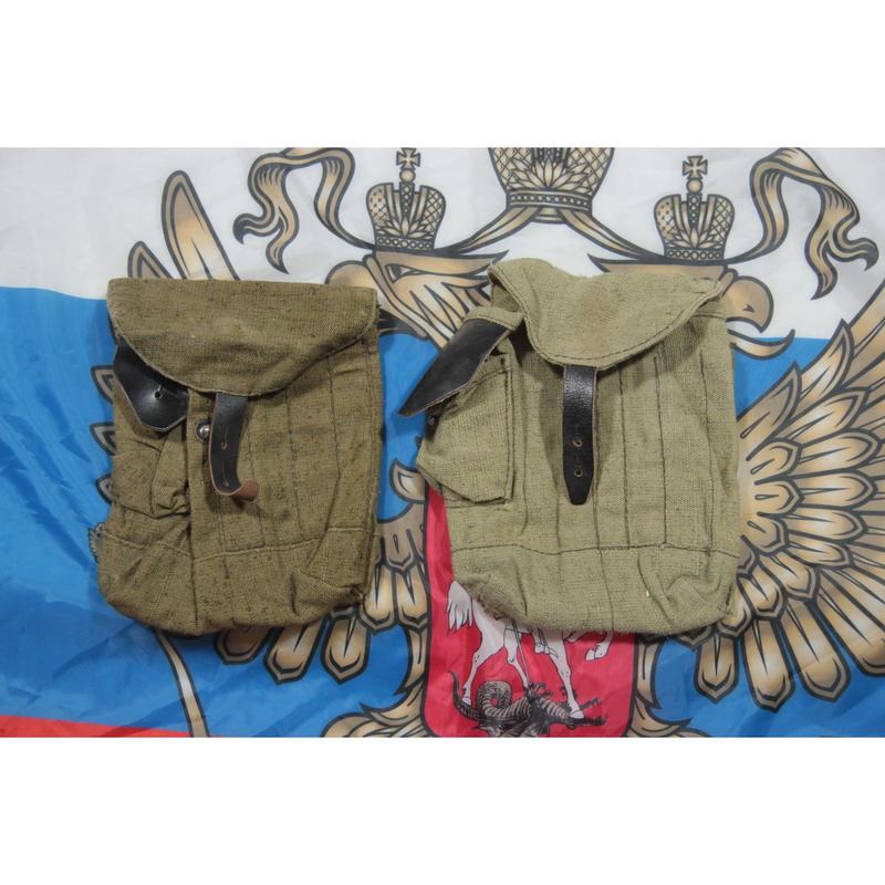 ロシア製 4室 AK-74 /AKS-74用 マガジンポーチ コットン製  2002年製