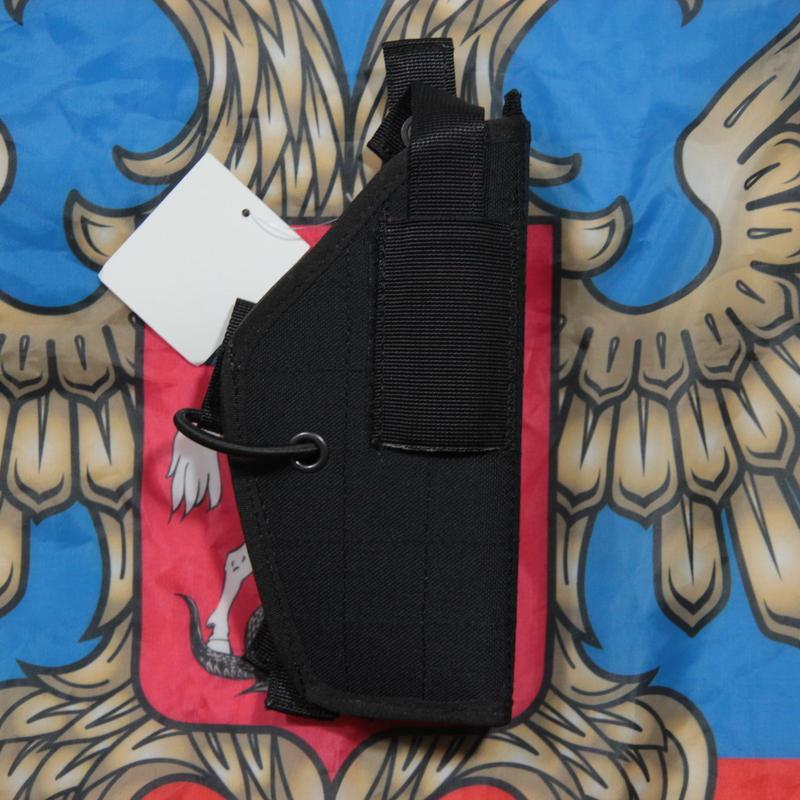 SSO製 中型拳銃用 ホルスター Molle 黒  #2