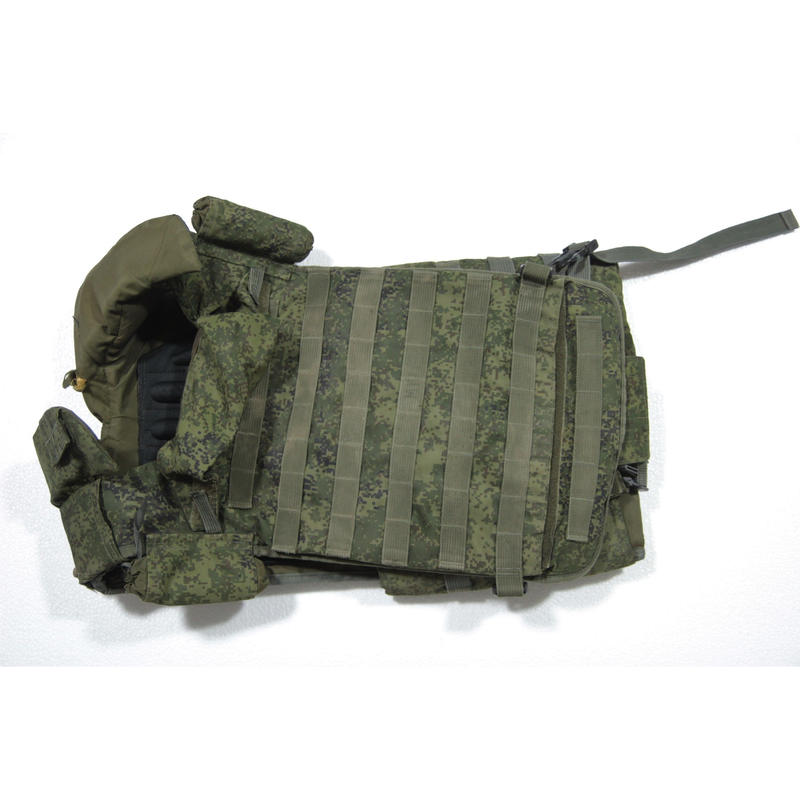 ロシア連邦軍 6b45 ボディアーマー ケヴラー付き デジタルフローラ迷彩 訳アリ品