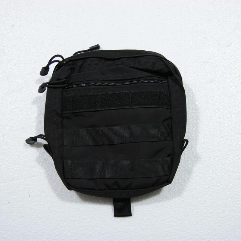 SSO製 ユーティリティポーチ メディカルポーチ 黒 Molle  #2