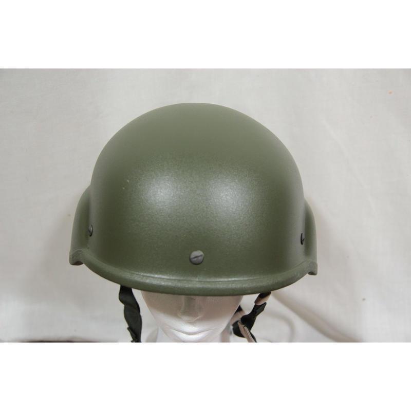 ロシア連邦軍 実物 Armocom製 旧型6b7-1m ヘルメット サイズ1 空挺フローラカバー+収納袋付き