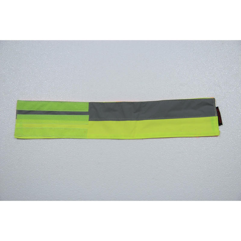 Armytex製 リフレクティブバンド 蛍光反射腕章  特注品 リバーシブル #2