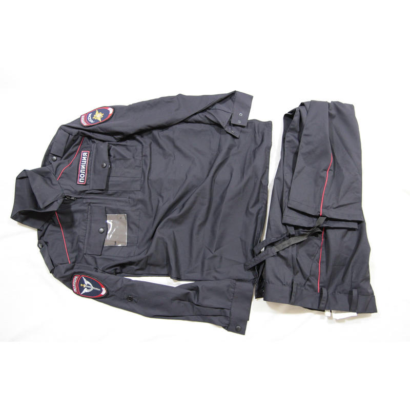 ロシア警察 内務省官給品 夏服 制服 IDケース 両袖/胸/背中 フルパッチ付き