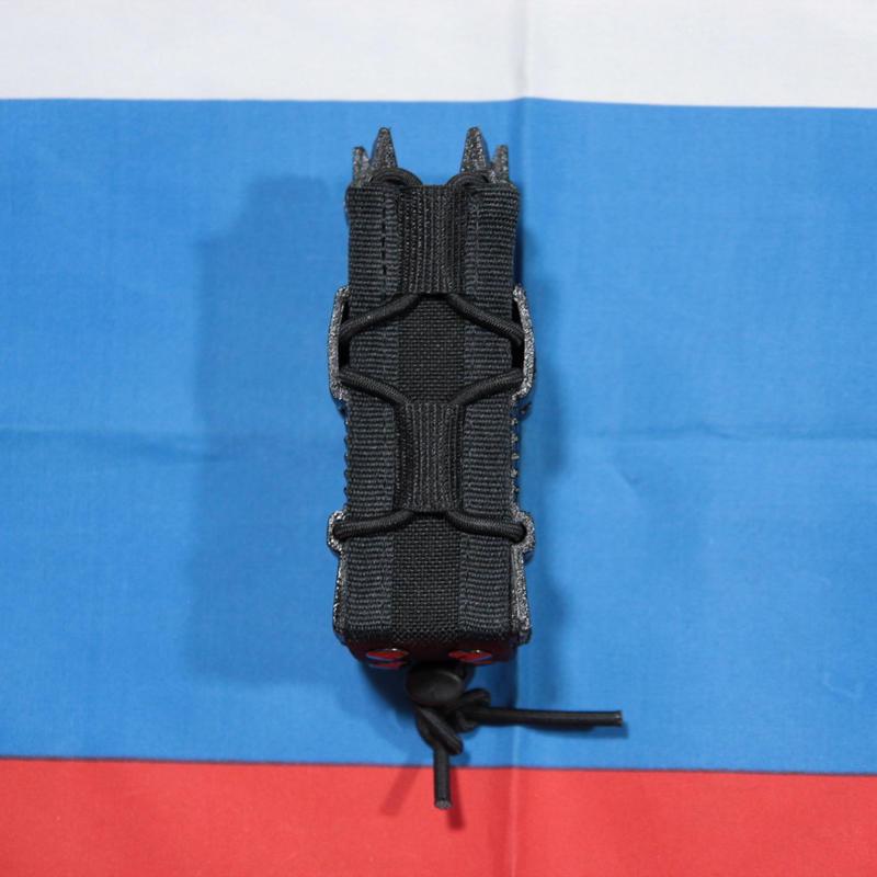 PGS製 ダブルハンドガンマガジンポーチ MOLLE 黒