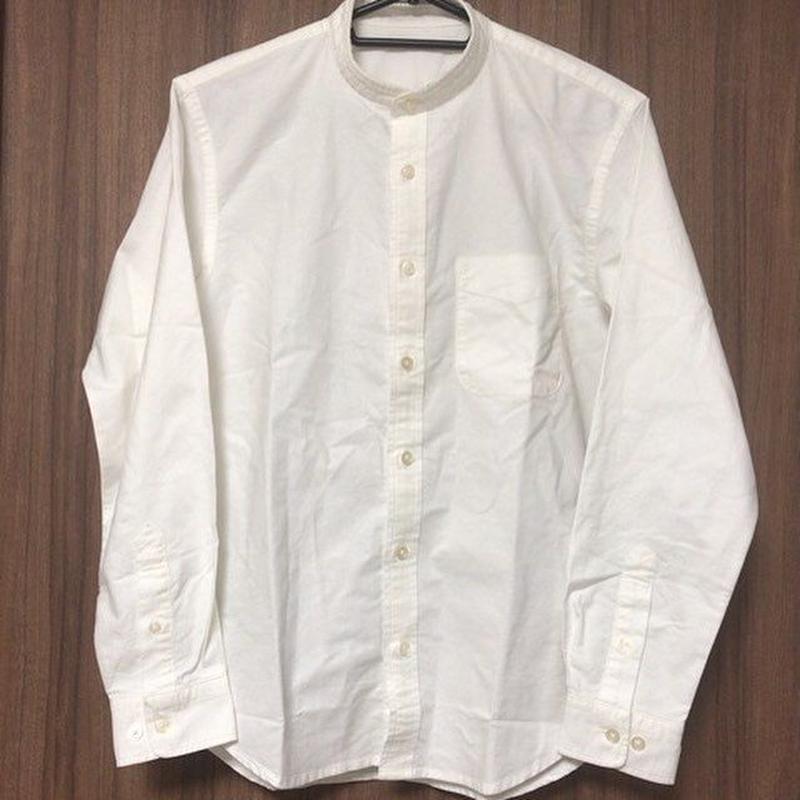【送料込】シャツの襟を取り、ノーカラーシャツへのお直し