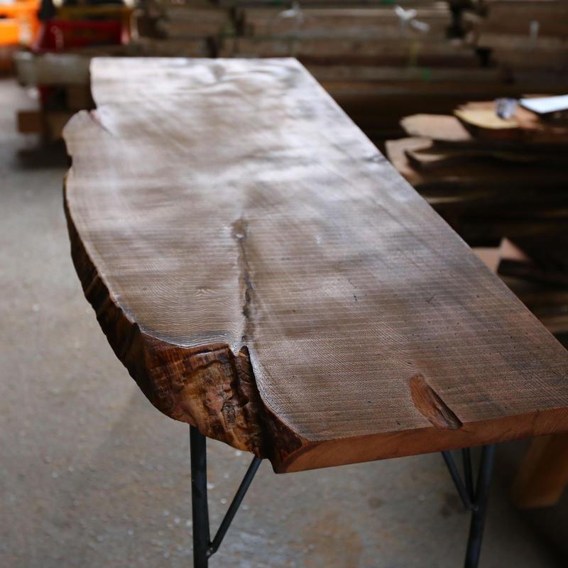 7/28(日) DIY CLASS <一枚板でテーブルや棚をつくろう>
