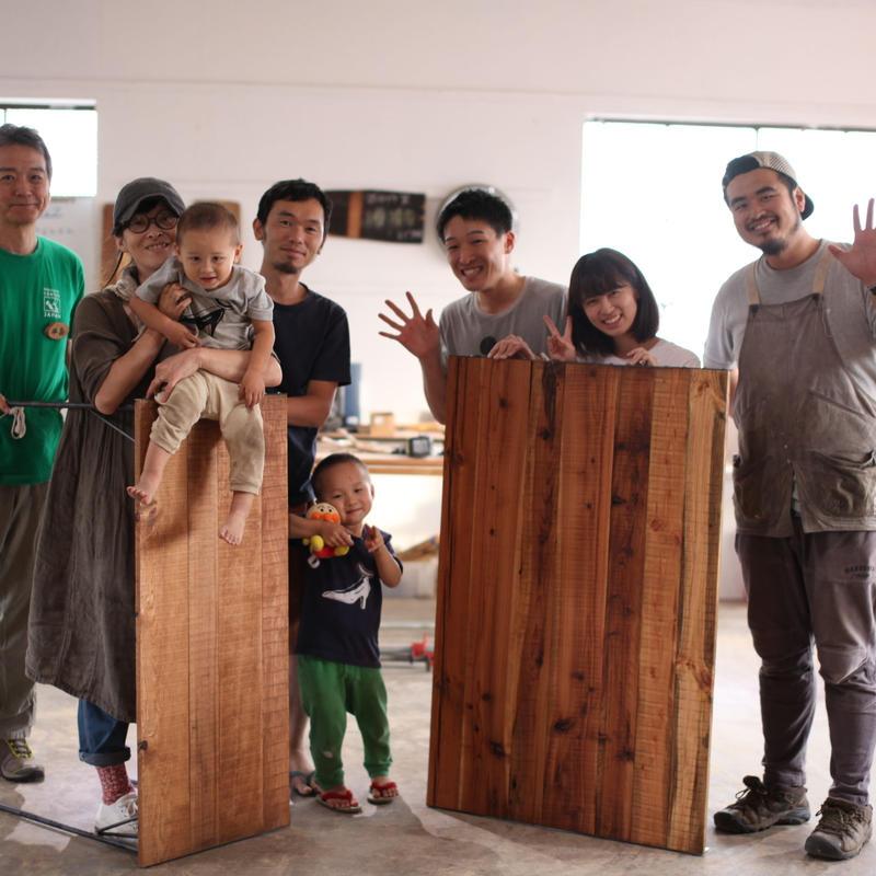 8/18(日)   DIY Class <古材ダイニングテーブル WS>
