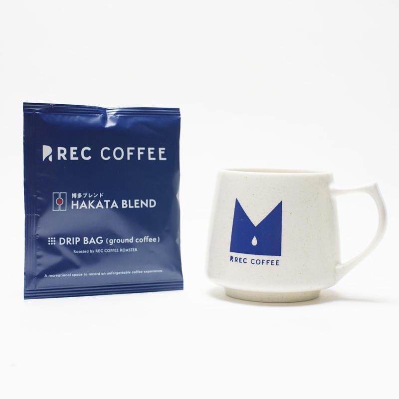REC COFFEEオリジナル キキマグ(ドリップバッグ付き)