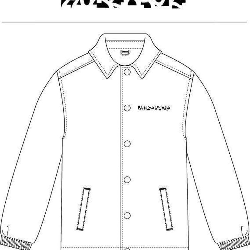 Coach jacket ( white・L )