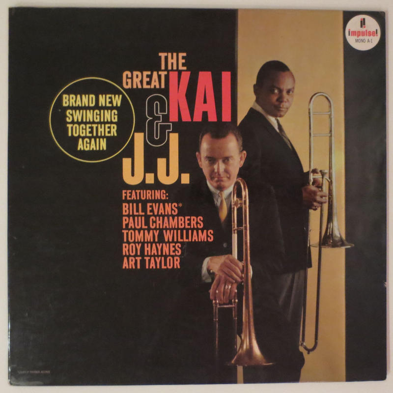 J.J. Johnson & Kai Winding ‎– The Great Kai & J. J.(Impulse! ‎A-1)mono