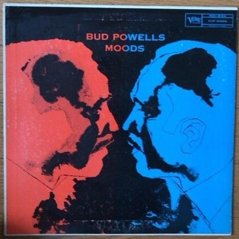 Bud Powell – Bud Powells Moods ( Verve Records – MGV-8154 ) mono