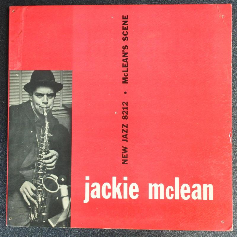 Jackie McLean – McLean's Scene( New Jazz – 8212)mono