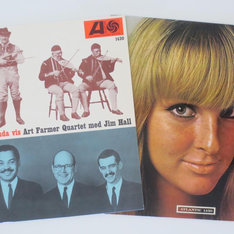 The Art Farmer Quartet Featuring Jim Hall – To Sweden With Love(Atlantic – 1430)mono オリジナル盤2枚セット
