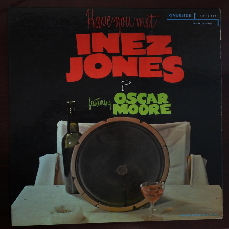 Inez Jones  ‎– Have You Met Inez Jones? (Riverside Records ‎– RLP 12-819)mono
