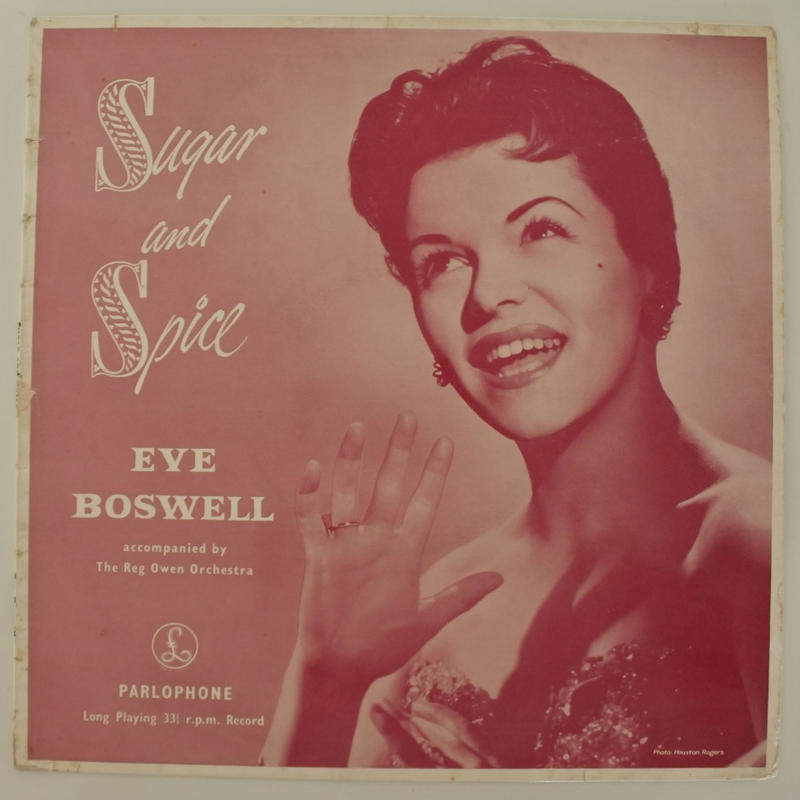 Eve Boswell - Sugar And Spice(英 Parlophone PMD1039)mono