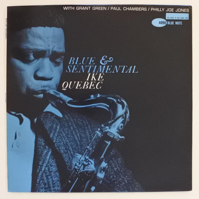Ike Quebec – Blue & Sentimental(Blue Note – BLP 4098)mono