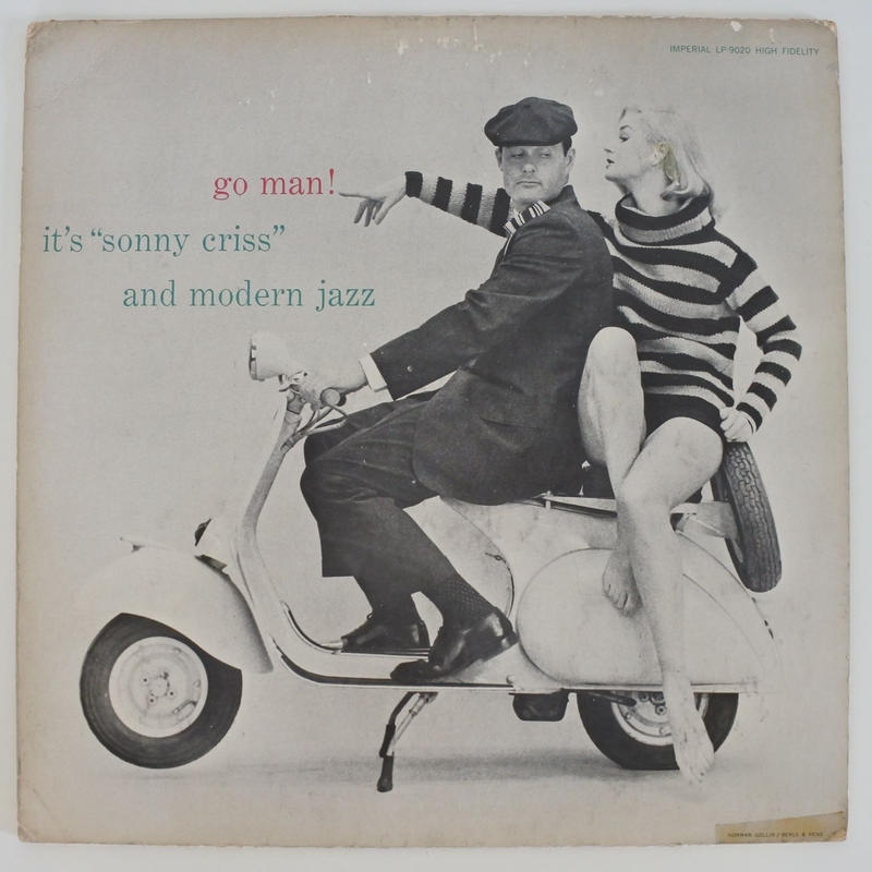 Sonny Criss ‎– Go Man(Imperial ‎– LP-9020)mono