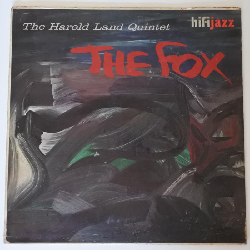 The Harold Land Quintet ‎– The Fox( HiFi Jazz ‎– SJ 612)stereo