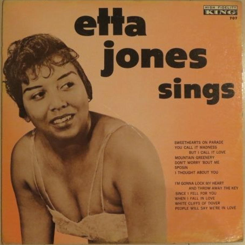 Etta Jones Sings - Etta Jones(King 707)mono