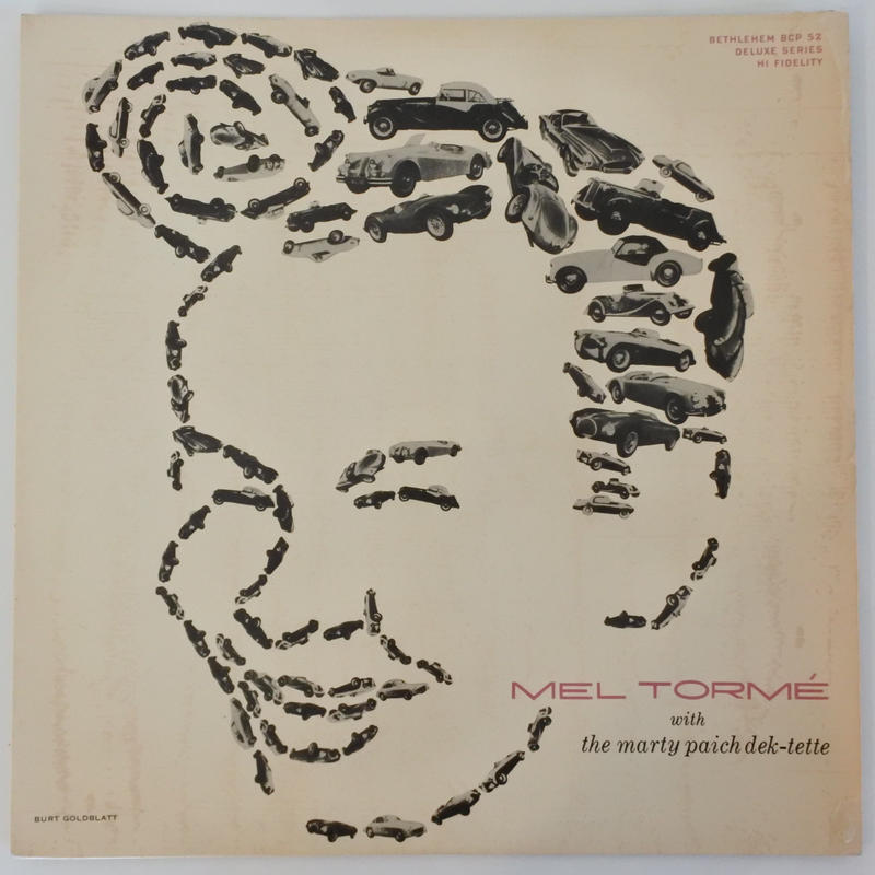 Mel Tormé With The Marty Paich Dek-Tette ‎– Mel Tormé(Bethlehem Records ‎– BCP 52)mono