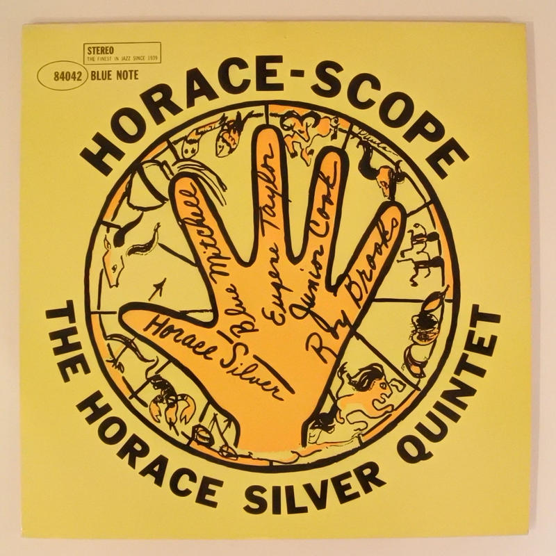 The Horace Silver Quintet ‎– Horace-Scope(Blue Note ‎– ST-84042)stereo