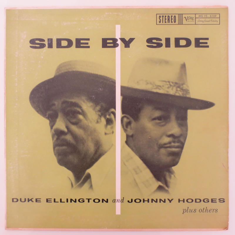 Duke Ellington & Johnny Hodges / Side By Side (Verve MG VS6109) stereo