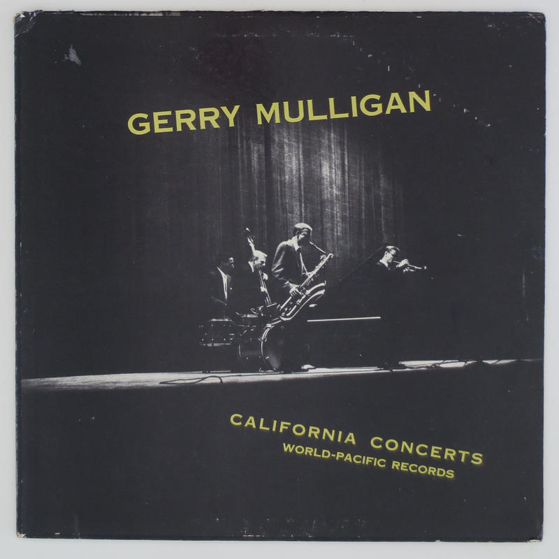 Gerry Mulligan ‎– California Concerts(Pacific Jazz Records ‎– PJ 1201)mono