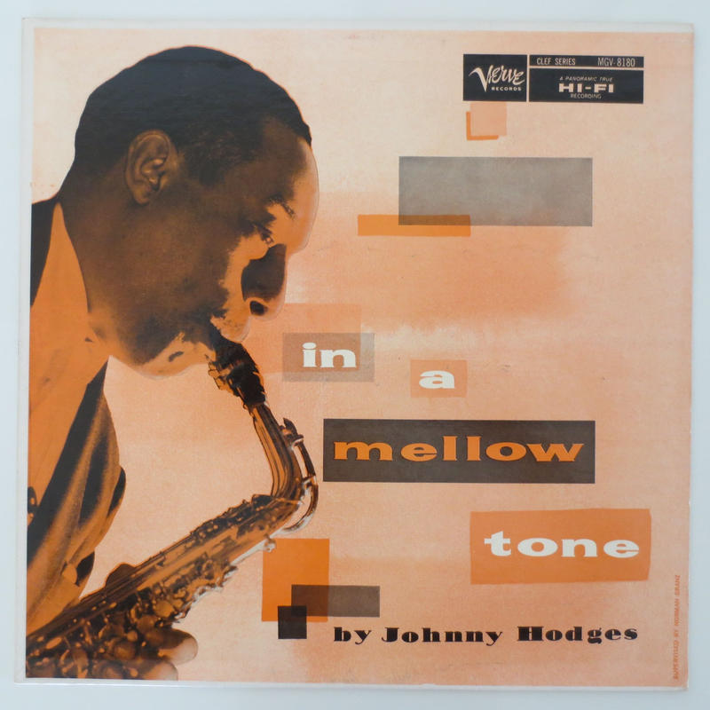 Johnny Hodges ‎– In A Mellow Tone(Verve  V-8180)mono