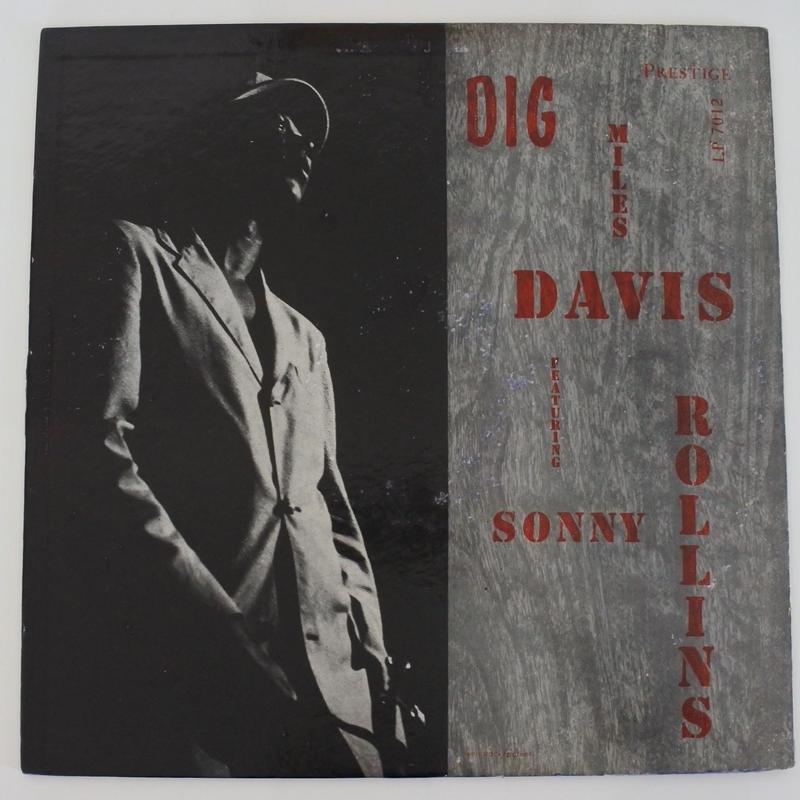 Miles Davis Featuring Sonny Rollins - Dig  (Prestige LP 7012)mono