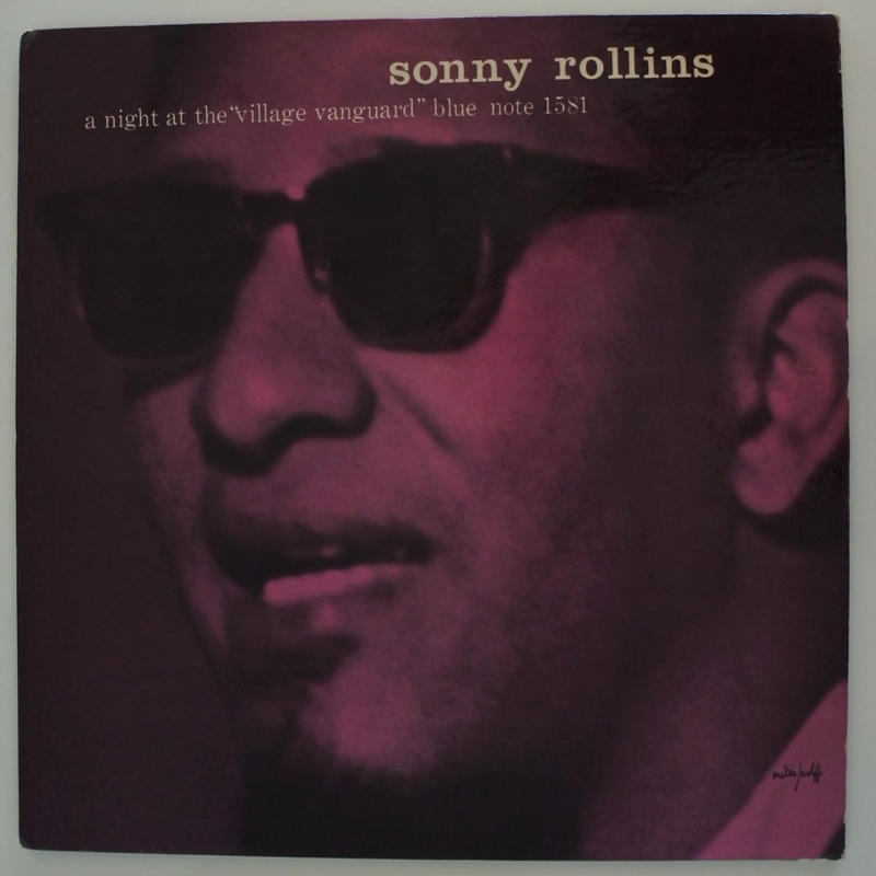 "Sonny Rollins ‎– A Night At The ""Village Vanguard""(Blue Note ‎– BLP 1581)mono"