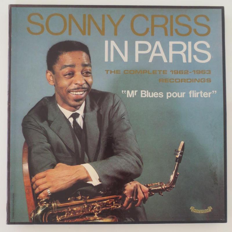 Sonny Criss - Sonny Criss in Paris (Fresh Sound Records/FSR BOX-2) stereo ボックス入りLP2枚組