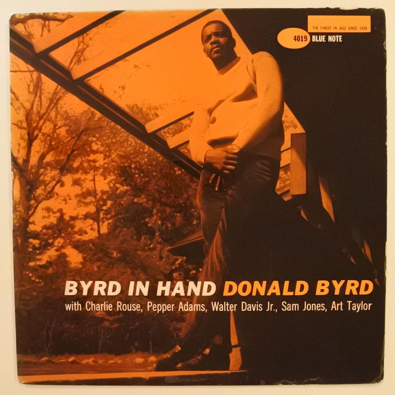 Donald Byrd ‎– Byrd In Hand(Blue Note ‎– BLP 4019)mono