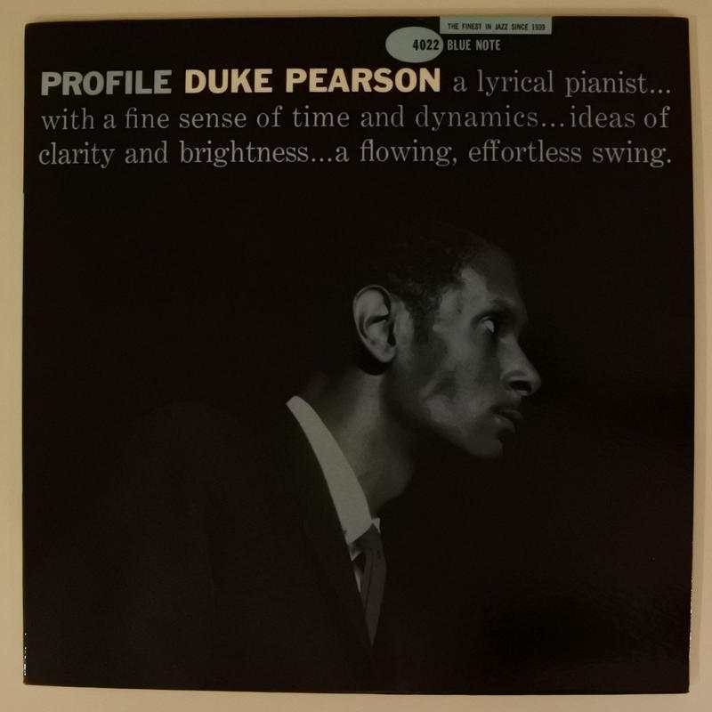 Duke Pearson ‎– Profile(Blue Note ‎– BLP 4022)mono