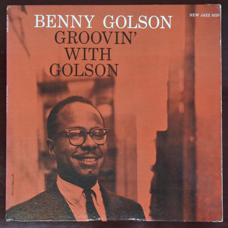 Benny Golson  ‎– Groovin' With Golson (New Jazz ‎– NJLP 8220 )mono
