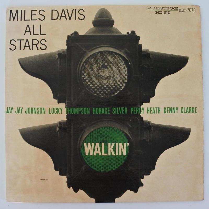 Miles Davis  / Walkin'  (Prestige 7076 ) mono