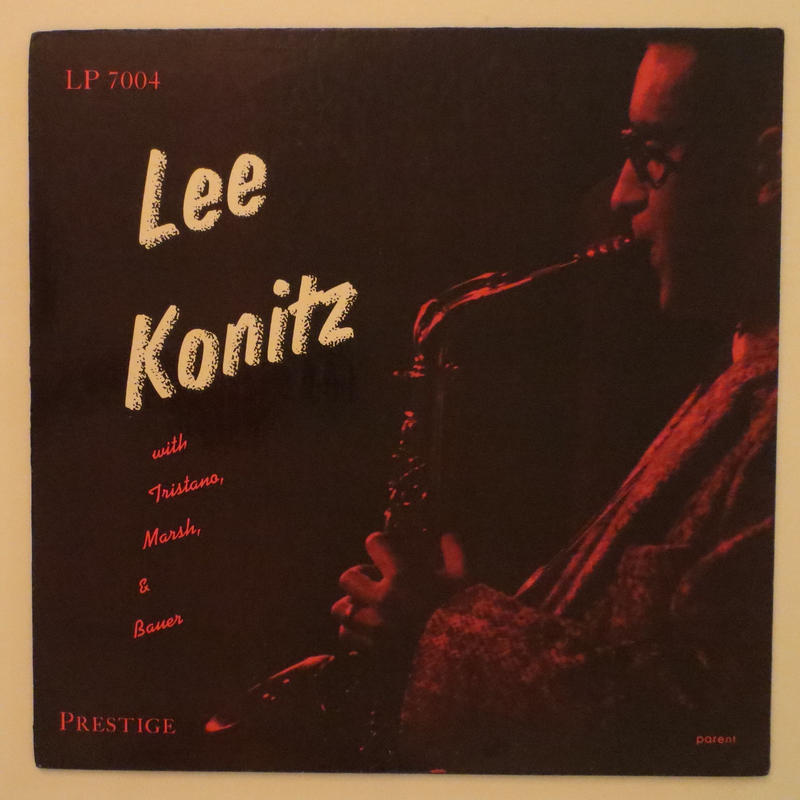 Lee Konitz With Tristano, Marsh & Bauer ‎– Subconscious-Lee(Prestige ‎– LP 7004)mono
