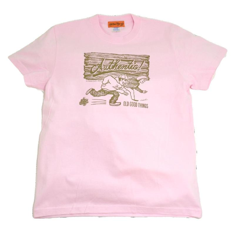 OldGoodThings S/S T-SHIRTS (AUTHENTIC! BY ROADDOGGZ) LIGHT PINK