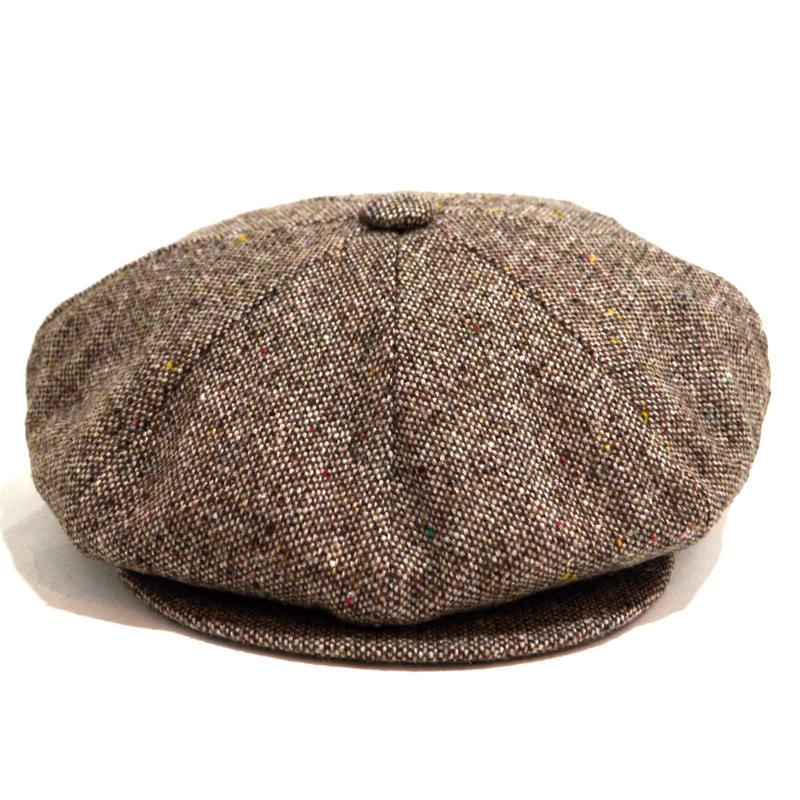 NEW YORK HAT (NEWS BOY) BROWN