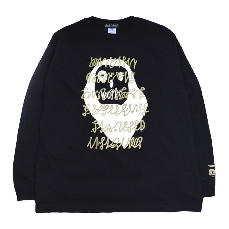 OILWORKS L/S T-SHIRTS (ねおじゃぱ 2018) BLACK