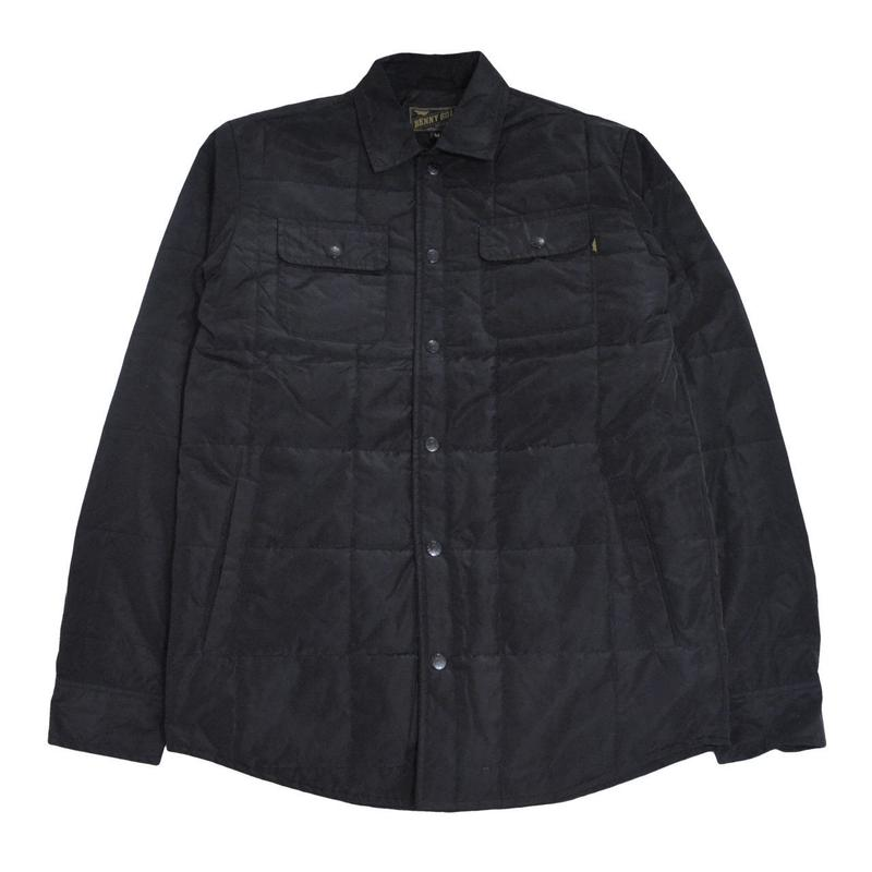 BENNY GOLD JACKET (SMITH QUILTED) BLACK
