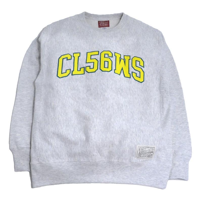 5656WORKINGS CREW NECK SWEAT (CLG TEAM) OATMEAL