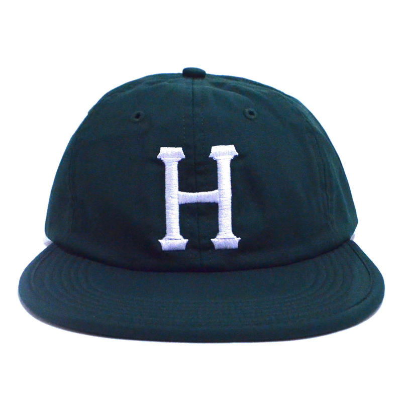 HUF 6PANEL CAP (FORMLESS) GREEN